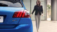 Peugeot 308 2020, dettaglio del gruppo ottico posteriore