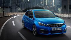 Peugeot 308 2020, il frontale