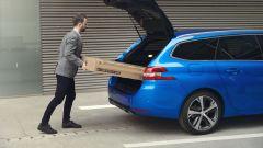 Peugeot 308 2020 SW, il portellone del bagagliaio