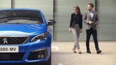 Peugeot 308 2021: il nuovo colore blu vertigo