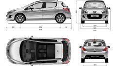 Peugeot 308 facelift - Immagine: 14
