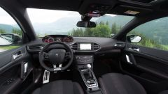 Peugeot 308 GT Line: l'abitacolo