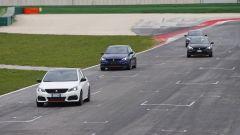 Peugeot 308 GTi - la prova in pista