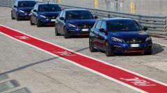 Peugeot 308 Gti pronte a scendere in pista