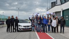 308 GTi by Peugeot Sport: i primi 12 clienti a Misano - Immagine: 1