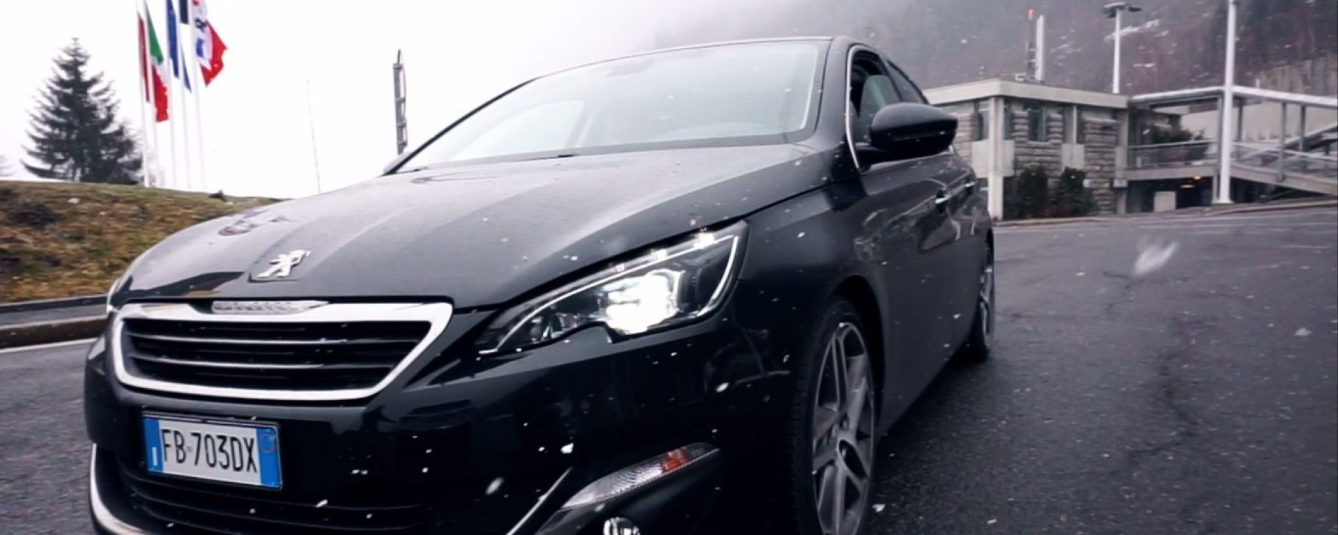 Peugeot 308 on the road: MotorBox va a Ginevra