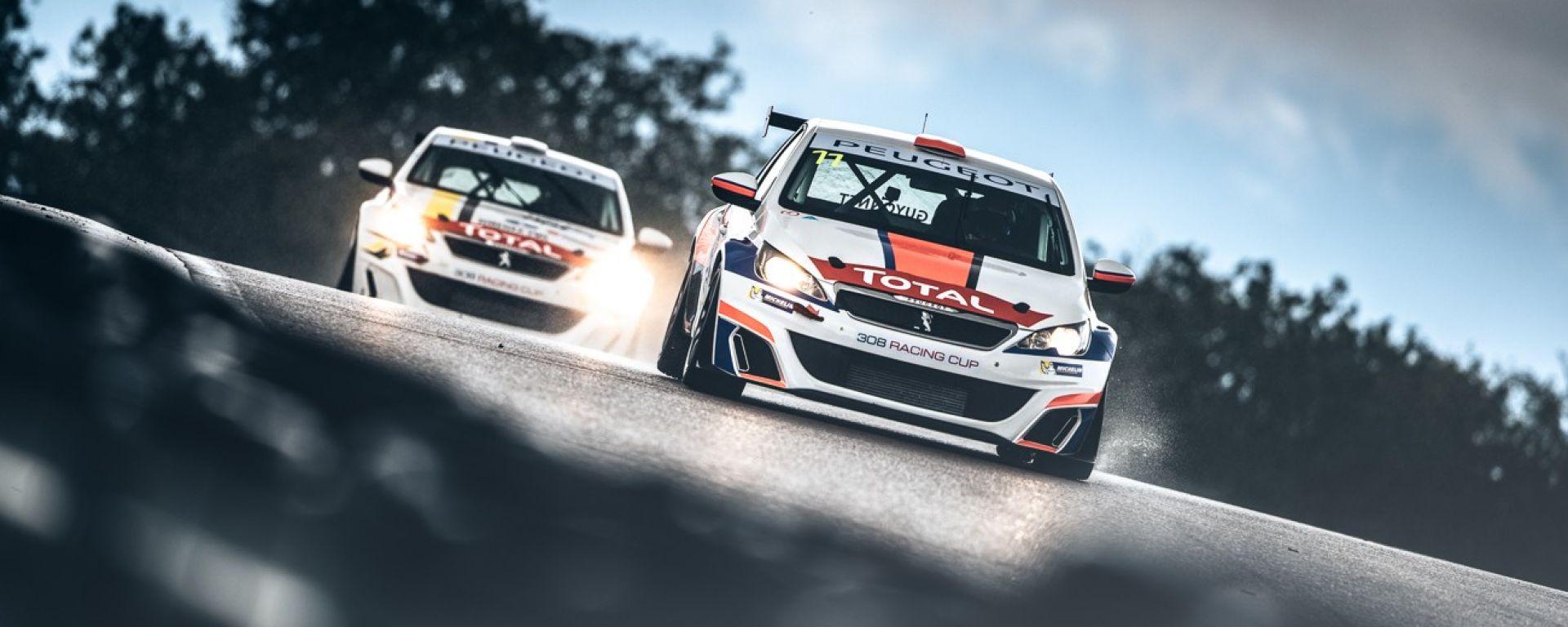 308 Racing Cup 2018: ecco il campionato monomarca Peugeot