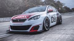 Peugeot 308 Racing Cup debutto campionato italiano velocità montagna 2017