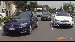 Peugeot 308 SW vs Kia cee'd Sportswagon vs Golf Variant  - Immagine: 3