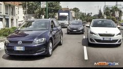 Peugeot 308 SW vs Kia cee'd Sportswagon vs Golf Variant  - Immagine: 25