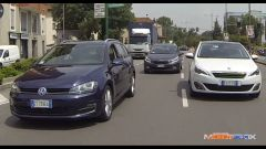 Peugeot 308 SW vs Kia cee'd Sportswagon vs Golf Variant  - Immagine: 5
