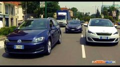 Peugeot 308 SW vs Kia cee'd Sportswagon vs Golf Variant  - Immagine: 6