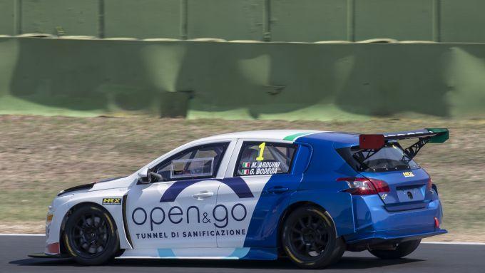 Peugeot 308 TCR a Vallelunga con Massimo Arduini