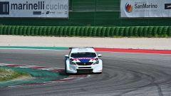 Peugeot 308 TCR: vista frontale