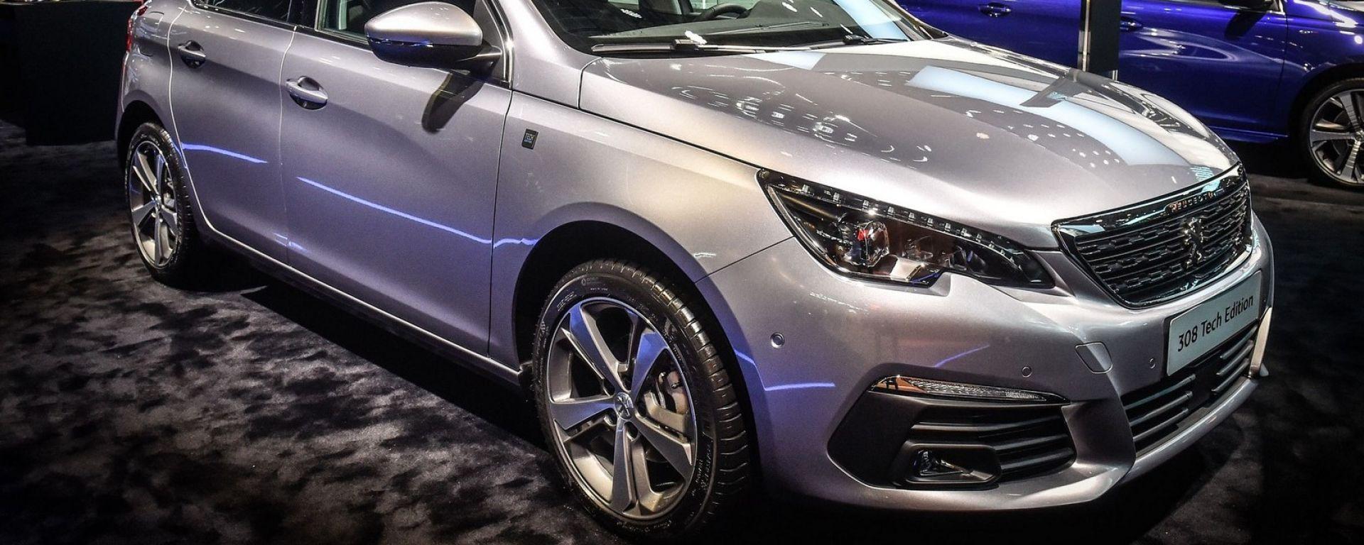 Peugeot 308 Tech Edition: spazio alla tecnologia di bordo!