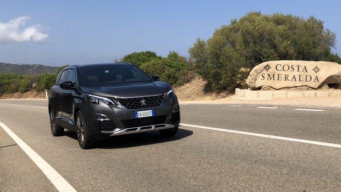 Peugeot 5008 2.0 BlueHDi EAT8 GT: comfort e piacere di guida