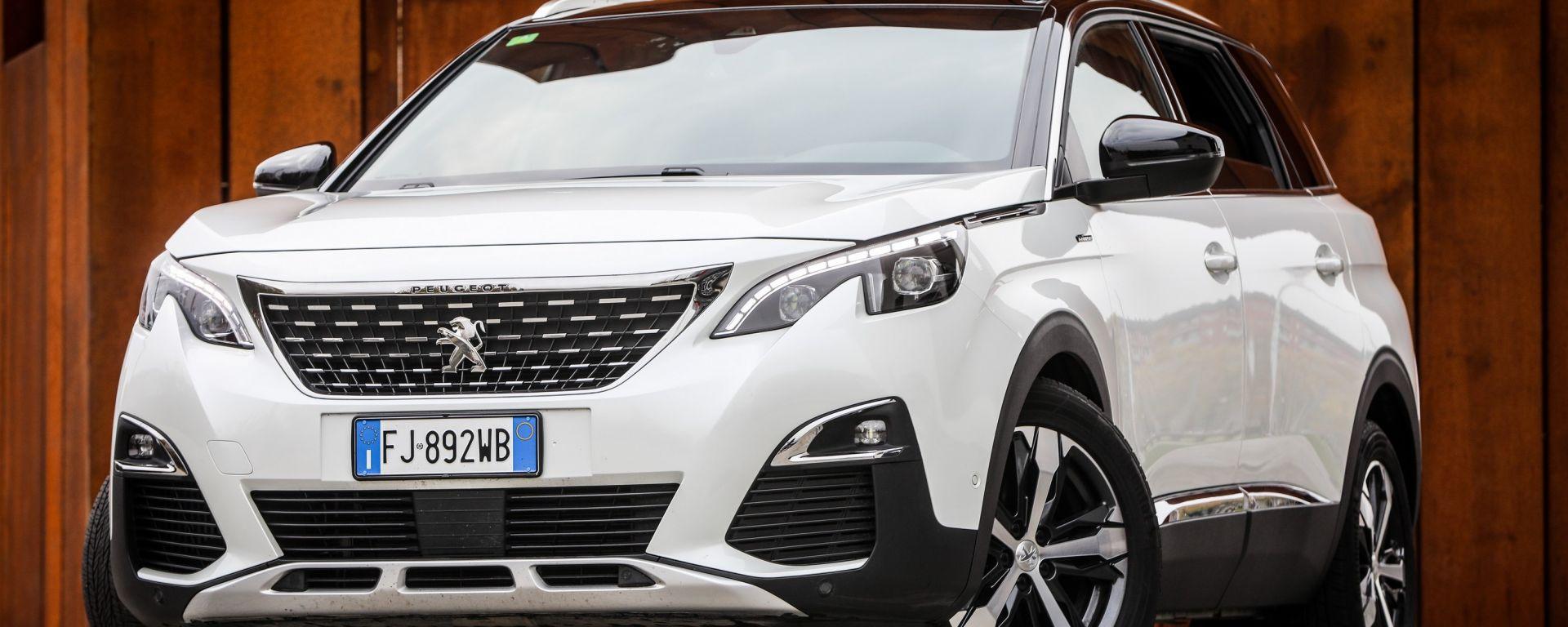 Peugeot 5008: il SUV per le grandi famiglie