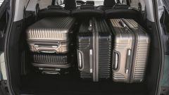 Peugeot 5008, il vano bagagli