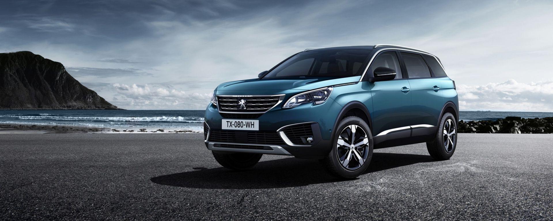 Peugeot 5008: cambio di direzione