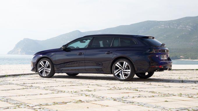 Peugeot 508 2021: la versione wagon