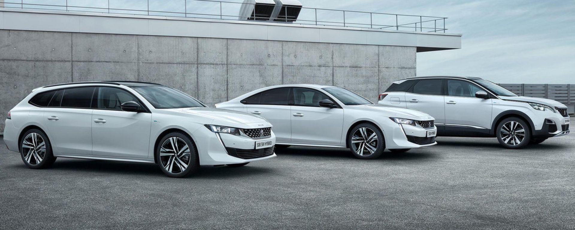 Peugeot 508 Hybrid e 3008 Hybrid, a chi conviene il plug-in