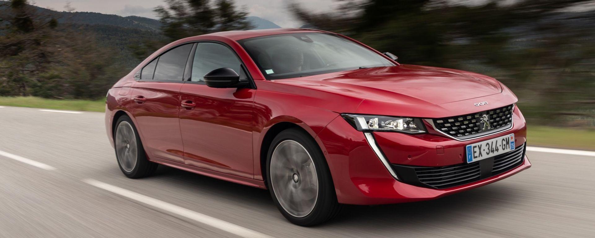 Peugeot 508: la prova su strada della nuova berlina coupé