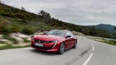 Peugeot 508: la prova su strada della nuova berlina coupé - Immagine: 9
