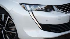 Peugeot 508 Hybrid 2020 dettaglio anteriore