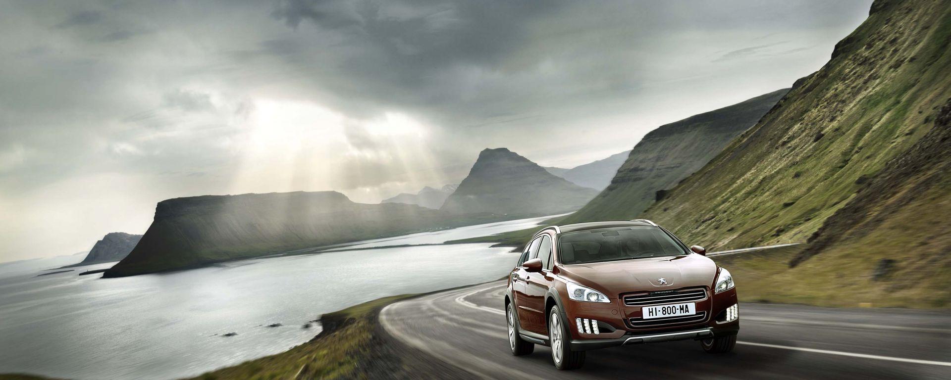 Peugeot 508 RXH: le nuove foto