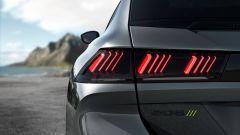Peugeot 508 Sport Engineered: gruppi ottici posteriori della SW