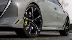 Peugeot 508 Sport Engineered ha di serie gomme Michelin Pilot Sport 4S su cerchi da 20