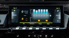 Peugeot 508 Sport Engineered, il display a centro plancia