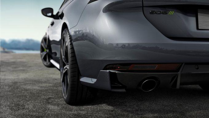 Peugeot 508 Sport Engineered: le appendici aerodinamiche posteriori