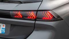 Peugeot 508 Sport Engineered, luci posteriori della station wagon