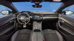 Peugeot 508 Sport Engineered, panoramica della plancia