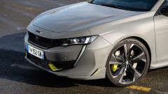 Peugeot 508 Sport Engineered: particolare del frontale