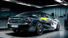 Peugeot 508 Sport Engineered plug-in hybrid: il posteriore