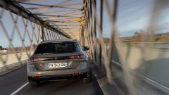Peugeot 508 Sport Engineered station wagon, il posteriore