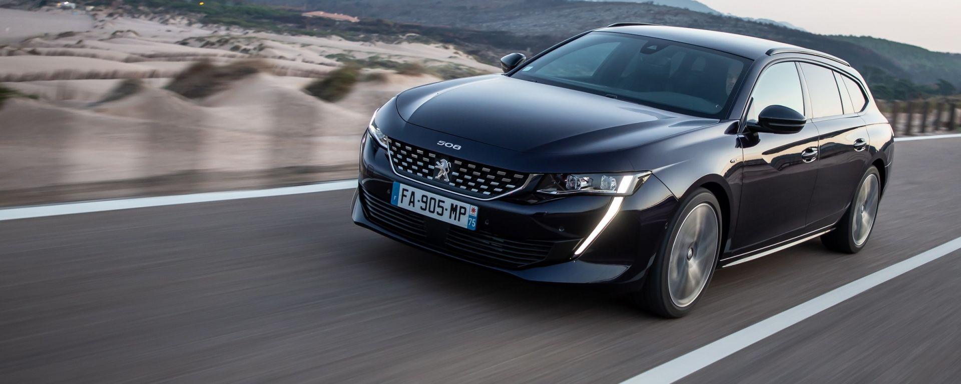 Nuova Peugeot 508 Sw 2019 Bagagliaio Uscita Prezzi Dimensioni