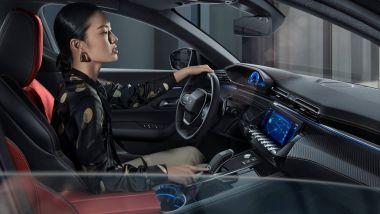 Peugeot 508L 2021: gli interni