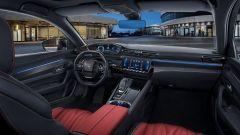 Peugeot 508L 2021: la plancia e il volante