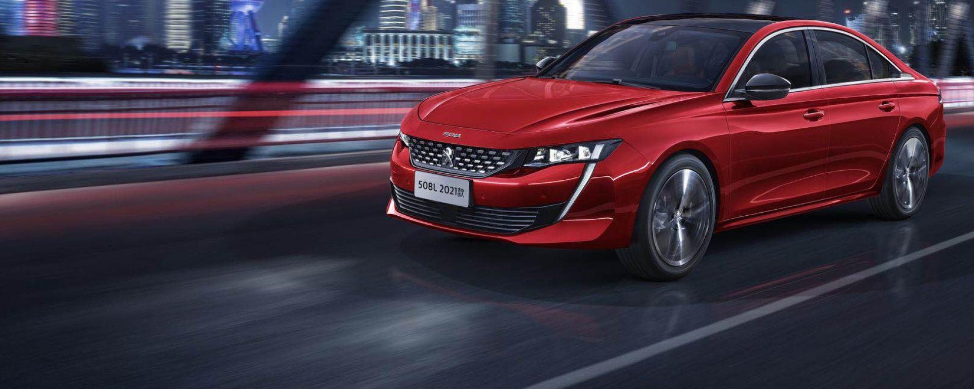 Peugeot 508L 2021