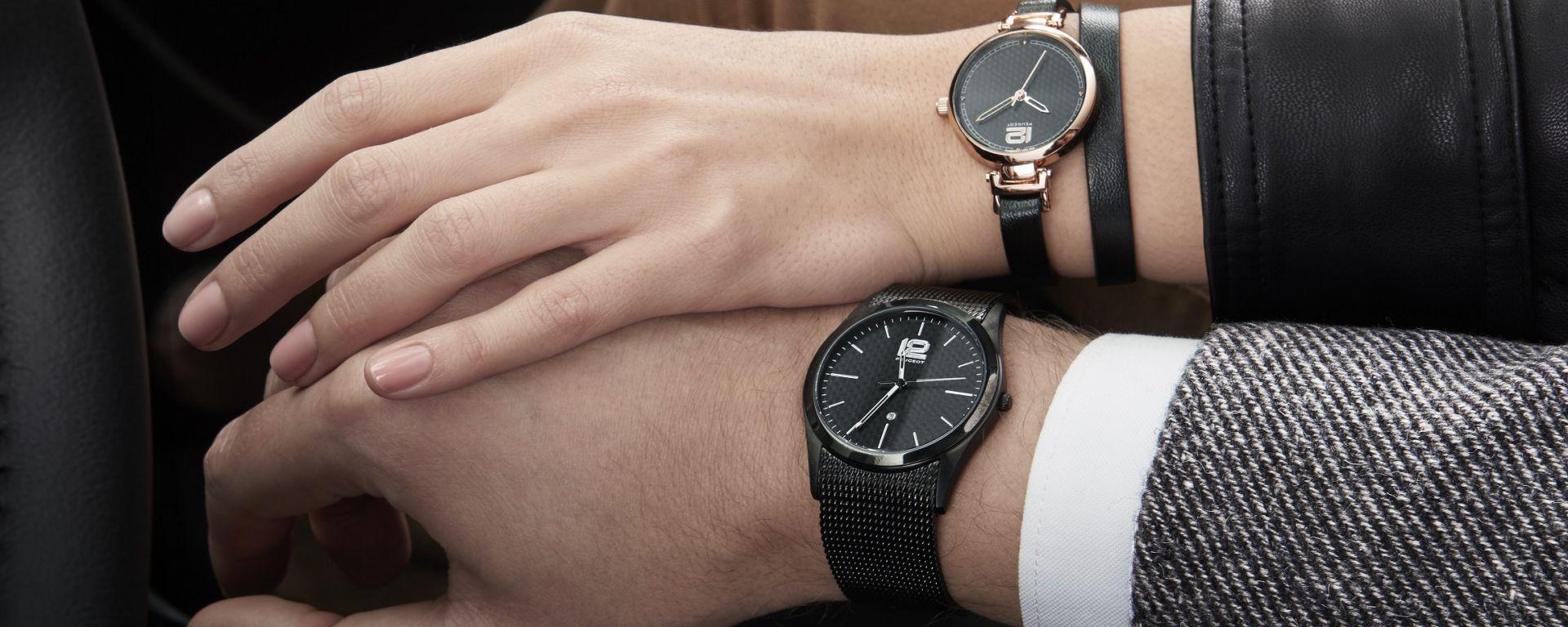 Peugeot: collezione di orologi ispirati al design della 508
