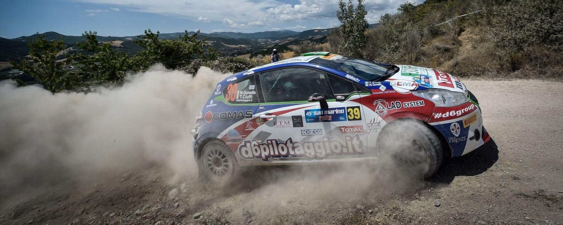 Peugeot Competition Top 208: al Rally San Marino la sfida si sposta sulla terra