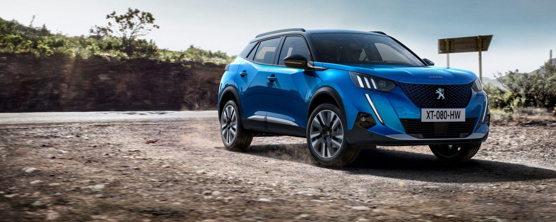 Peugeot e-2008 2020, la 2008 elettrica: il test drive è in corso