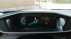 Peugeot e-2008: il quadro strumenti digitale dell'i-Cockpit 3D