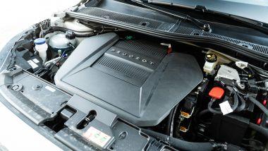 Peugeot e-208: il motore elettrico