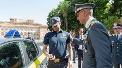 Peugeot e-208 per la Guardia di Finanza: la consegna delle chiavi