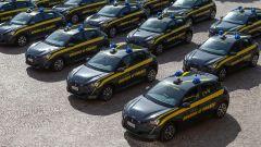 Peugeot e-208 per la Guardia di Finanza: la flotta delle 30 auto consegnate