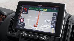 Peugeot e-Boxer elettrico: il navigatore (optional) da 9 pollici